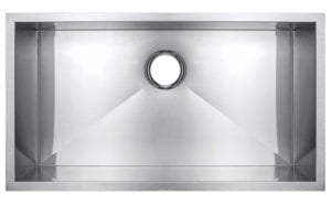 Golden Vantage Single Basin Bowl Undermount Handmade 18 Gauge Stainless Steel Kitchen Sink Review