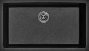 Hoch Int'l Imports, Ltd. G-3218S-BL, Black Granite Composite Single Bowl Kitchen Sink Review