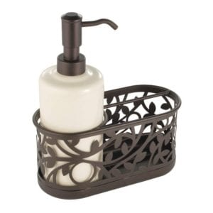 InterDesign Vine Soap Dispenser Pump and Sponge Caddy Review