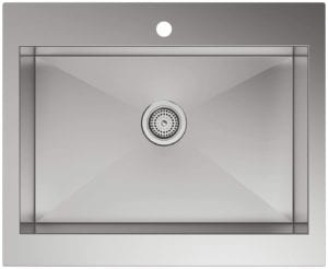Kohler Top Mount Single Bowl Stainless Steel Kitchen Sink with Tall Apron Review
