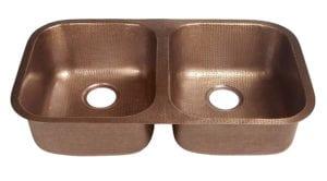 Sinkology Kandinsky Undermount Handmade Pure Solid Double Bowl Antique Copper Kitchen Sink Review