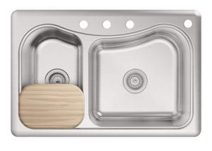 Staccato Dual Stainless Steel Kitchen Sink by Kohler Review