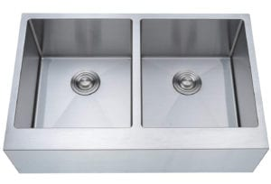 Stainless Steel Farmhouse Apron Double Bowl Kitchen Sink by Mowa Review