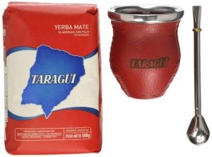 Taragui Yerba Mate Bombilla Glass and Leather Gourd Review