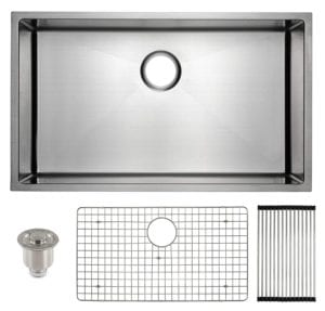 Undermount Stainless Steel Kitchen Sink with Deep Basin by Frigidaire Review