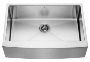 Vigo VGR3320C 33 Inch Farmhouse Apron Front 16 Gauge Single Bowl Stainless Steel Kitchen Sink Review