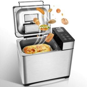 Automatic Bread Maker Machine with 17 Settings Including Gluten-Free by KBS Review