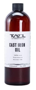 Cast Iron Coconut Oil by TWOL Review