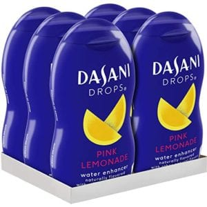 Dasani Drops Pink Lemonade Water Enhancer Review