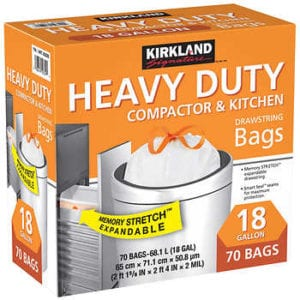 Kirkland Compactor Bags Smart Fit Review