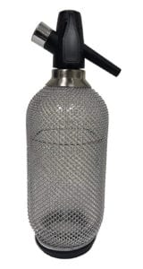 Lovin Silver Glass Mesh Soda Siphon Review