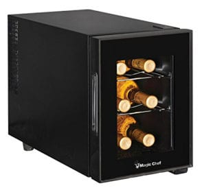 Magic Chef 6 Bottle Wine Cooler Review
