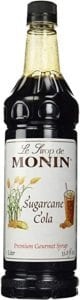 Monin Sugarcane Cola Syrup Review