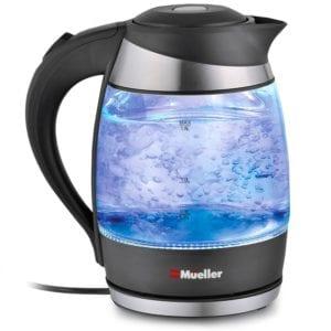 Mueller Ultra SpeedBoil Glass Cordless Electric Tea Review