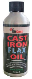 Natural Cast Iron Flax Oil by KitCast Review