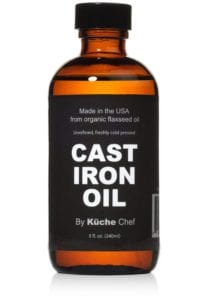 Organic Cast Iron Oil and Cast Iron Conditioner Review
