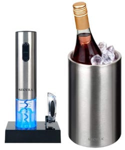 Secure Stainless Steel Electric Wine Opener Corkscrew Bottle Opener Review