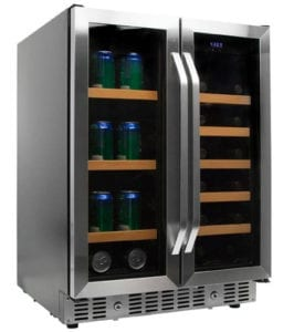 EdgeStar 24-Inch Built-In Wine and Beverage Cooler with French Doors Review