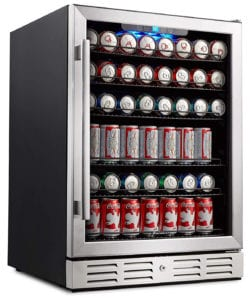 Kalamera 24-Inch Beverage Refrigerator 175 Can Built-In Or Freestanding Single Zone Touch Control Review