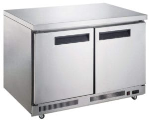 Undercounter Freezer in Stainless Steel by Dukers Appliance USA Review