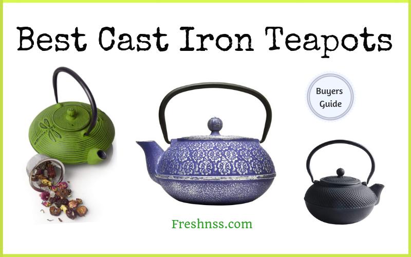 Best Cast Iron Teapots Reviews (2020 Buyers Guide)