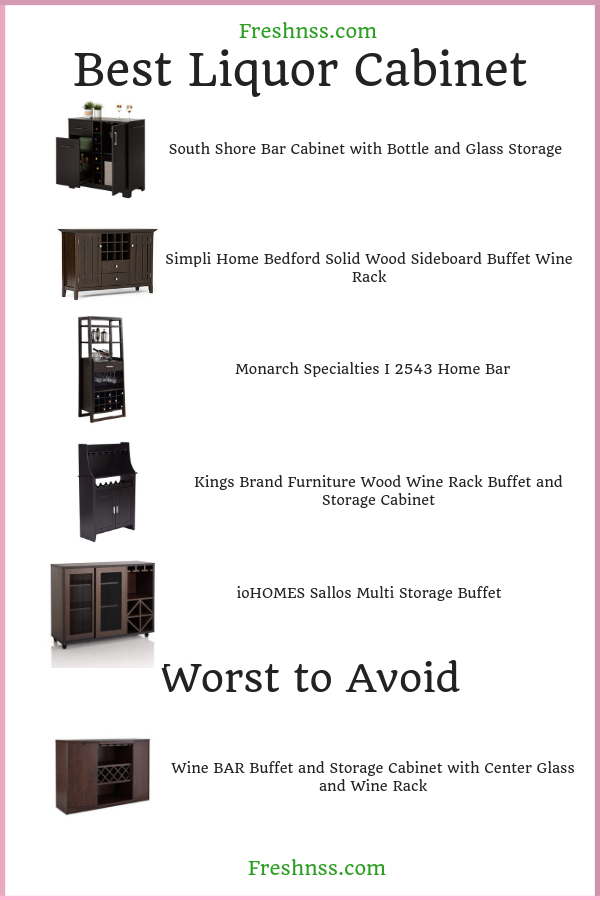 best-liquor-cabinet-reviews
