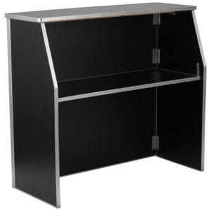 Black Laminate Foldable Bar by Flash Furniture Review
