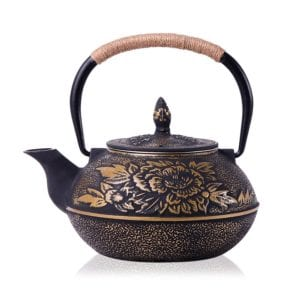 Cast Iron Teapot Kettle with Stainless Steel Infuser Review