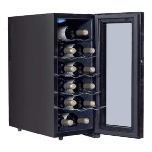 Costway Thermoelectric Wine Cooler Freestanding Cellar Review