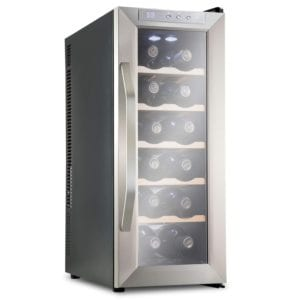Ivation 12 Bottle Thermoelectric Red and White Wine Cooler Review