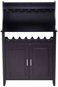Kings Brand Furniture Wood Wine Rack Buffet and Storage Cabinet Review