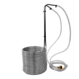 Super Efficient Stainless Steel Wort Chiller by NY Brew Supply Review