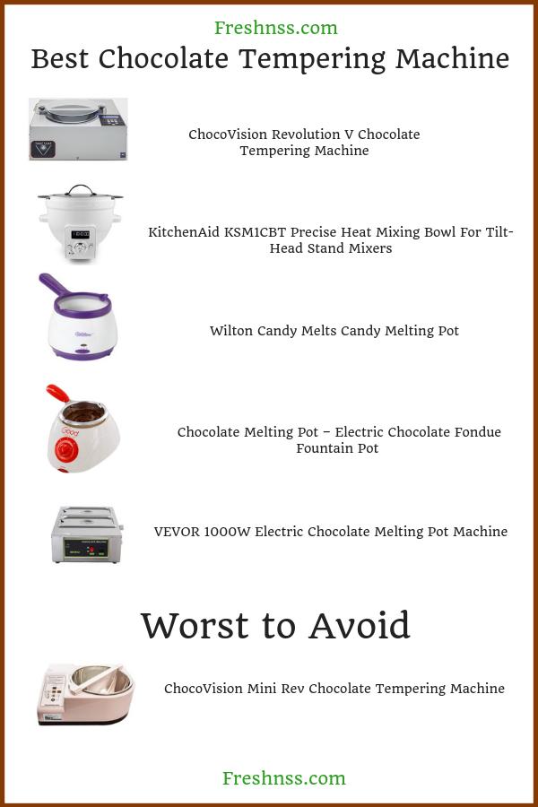 best-chocolate-tempering-machine