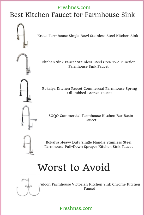 best-kitchen-faucet-for-farmhouse-sink-reviews