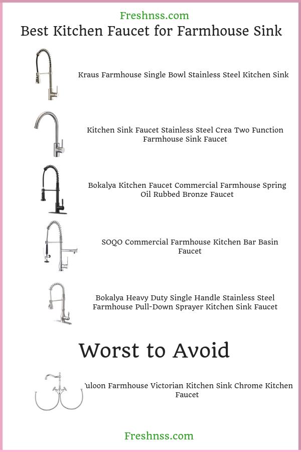 best-kitchen-faucet-for-farmhouse-sink-reviews