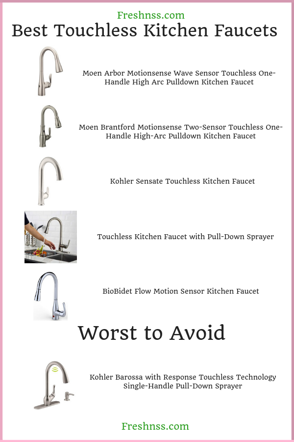 best-touchless-kitchen -faucets-reviews
