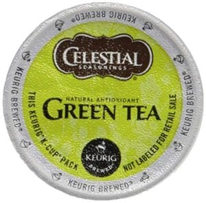 Celestial Seasonings Natural Antioxidant Green Tea K-Cup for Keurig Review