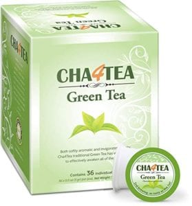 Cha4TEA 36-Count Green Tea K Cups for Keurig K-Cup Review