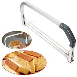 Gooday Adjustable Large 3 Blades Cake Cutter Interlayer Cake Slicer Leveler Household Cake Tools Baking and Pastry Tool Review