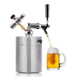 Lamtor 64 Ounce Mini Keg Pressurized Growler Review