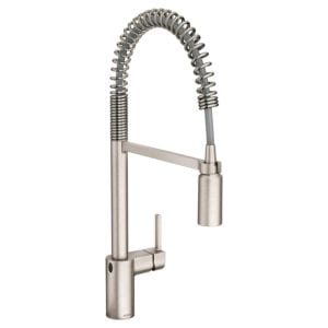 Moen Align Motionsense Wave Sensor Touchless One-Handle High Arc Pulldown Kitchen Faucet Review