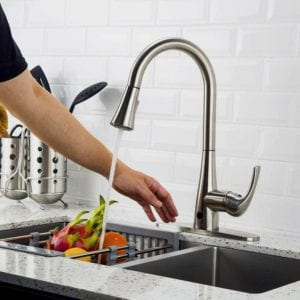 Touchless Kitchen Faucet with Pull-Down Sprayer by Forious Review