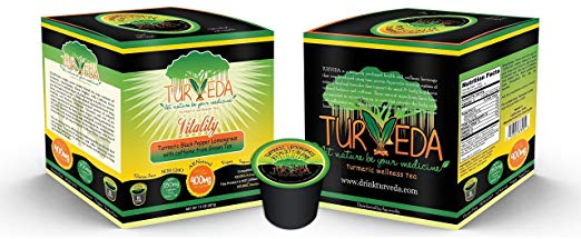 Turveda Golden Tea Turmeric Lemongrass Tea for Keurig K-Cup Brewer Review