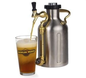 uKeg 64 Oz Pressurized Growler for Craft Beer Review