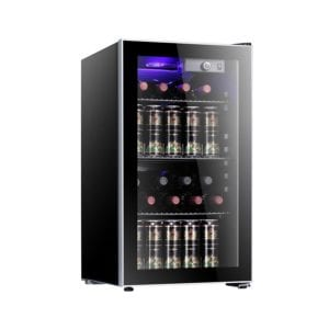 Antarctic Star 26 Bottle Wine Cooler Cabinet Refrigerator Review
