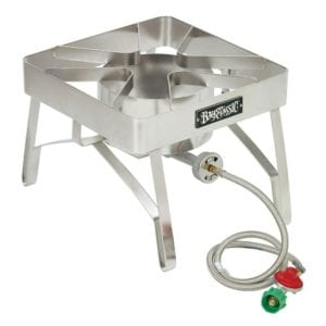 Bayou Classic SS84 Stainless Steel Brew Stove with Windscreen Review