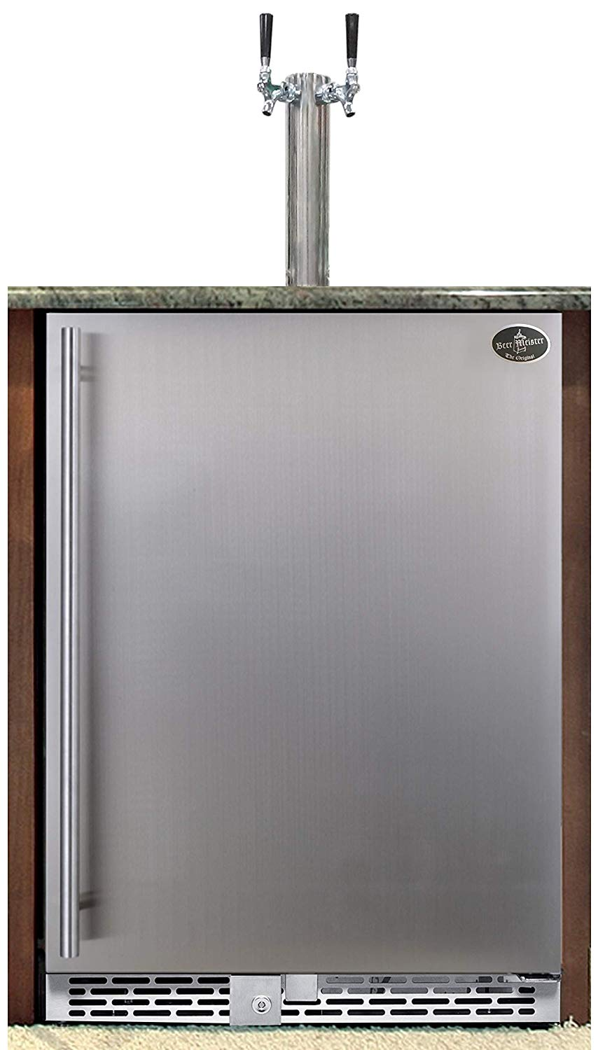 Beer Meister Dual Tower with Stainless Door Built-In Kegerator Review