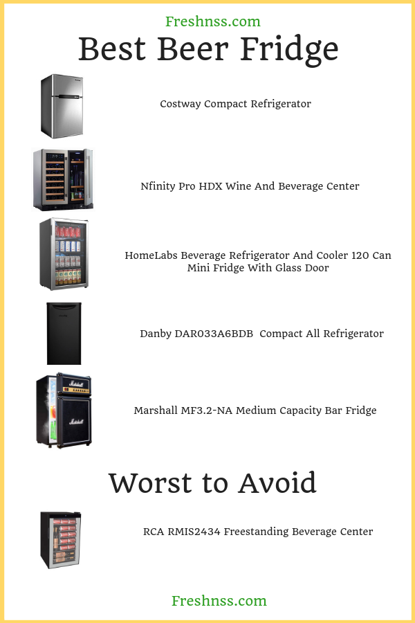 best-beer-fridge-reviews