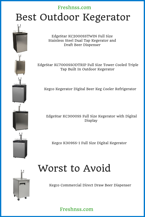 best-outdoor-kegerator-review