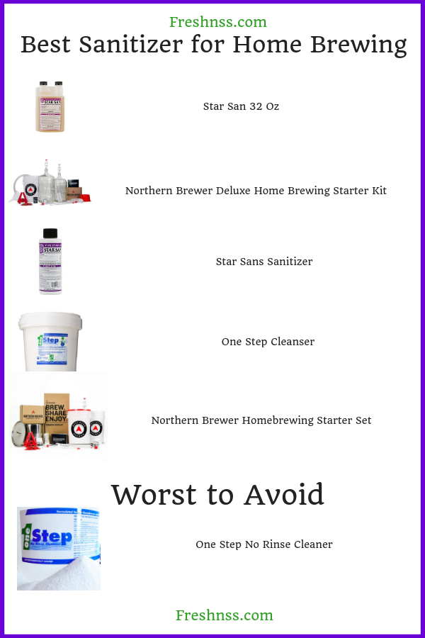 best-sanitizer-for-home-brewing-reviews